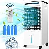 Mobile Klimaanlage 4 in 1 Aircooler Luftkühler Ventilator Luftreiniger Luftbefeuchter 7h Timer | 3 Modi |...
