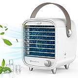 SUNGYIN Mini Aircooler Persönlicher tragbarer Mini-Klimaanlagenkühler, Schlafzimmerventilator, Sicherheit...
