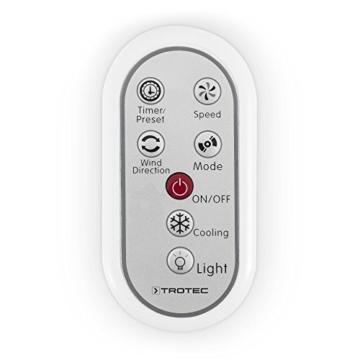 TROTEC Aircooler PAE 25 4 in 1 - Gerät: Luftkühler, Ventilator, Luftbefeuchter, und Lufterfrischer -