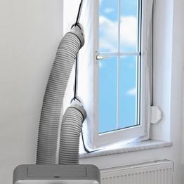 TROTEC AirLock 200 Fensterabdichtung für Klimageräte und Ablufttrockner Hot Air Stop -