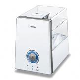 Beurer LB 88 Luftbefeuchter, mikrofeine Zerstäubung mit Ultraschall, bakterienarm, für Räume bis 48 m², weiß - 1
