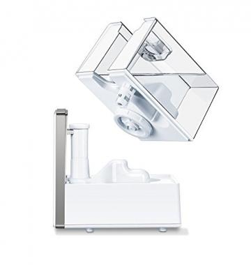 Beurer LB 88 Luftbefeuchter, mikrofeine Zerstäubung mit Ultraschall, bakterienarm, für Räume bis 48 m², weiß - 3