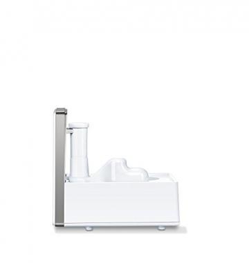 Beurer LB 88 Luftbefeuchter, mikrofeine Zerstäubung mit Ultraschall, bakterienarm, für Räume bis 48 m², weiß - 4