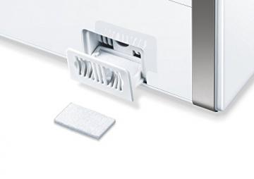 Beurer LB 88 Luftbefeuchter, mikrofeine Zerstäubung mit Ultraschall, bakterienarm, für Räume bis 48 m², weiß - 5