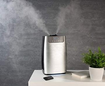 Carlo Milano Luftreiniger: Digitaler Ultraschall-Aroma-Luftbefeuchter & -reiniger, Ionisator & UV (Diffusor) - 4