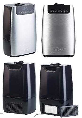 Carlo Milano Luftreiniger: Digitaler Ultraschall-Aroma-Luftbefeuchter & -reiniger, Ionisator & UV (Diffusor) - 5