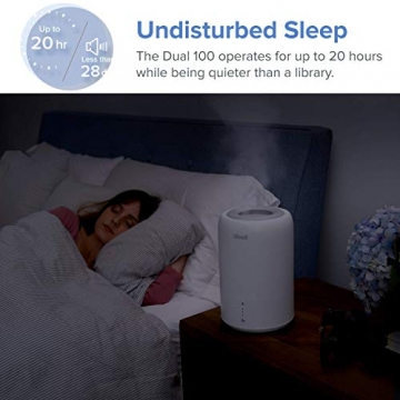 Levoit Ultraschall Luftbefeuchter Humidifier mit Top-Füllung ultraleisem Schlafmodus Auto-off, Raumbefeuchter mit Aromatherapie, Kalt Dampf bis 24 m² für Kinderzimmer, Wohn- und Schlafzimmer, Büro - 6