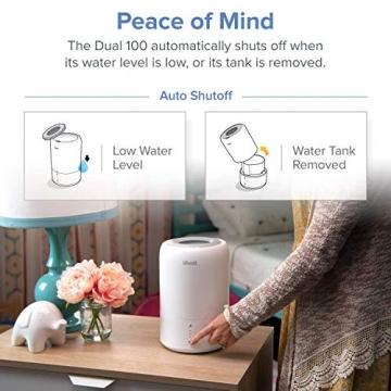 Levoit Ultraschall Luftbefeuchter Humidifier mit Top-Füllung ultraleisem Schlafmodus Auto-off, Raumbefeuchter mit Aromatherapie, Kalt Dampf bis 24 m² für Kinderzimmer, Wohn- und Schlafzimmer, Büro - 8