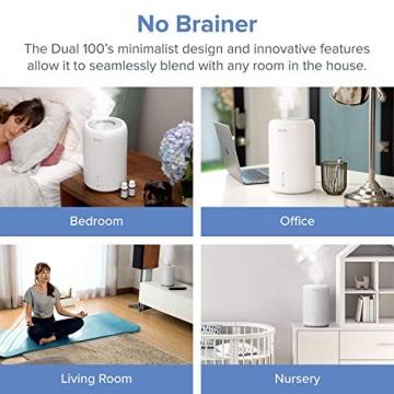 Levoit Ultraschall Luftbefeuchter Humidifier mit Top-Füllung ultraleisem Schlafmodus Auto-off, Raumbefeuchter mit Aromatherapie, Kalt Dampf bis 24 m² für Kinderzimmer, Wohn- und Schlafzimmer, Büro - 9