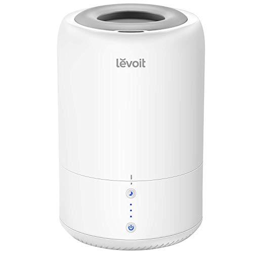 Levoit Ultraschall Luftbefeuchter Humidifier mit Top-Füllung ultraleisem Schlafmodus Auto-off, Raumbefeuchter mit Aromatherapie, Kalt Dampf bis 24 m² für Kinderzimmer, Wohn- und Schlafzimmer, Büro - 1