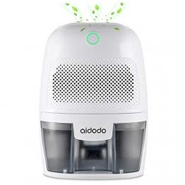 Luftentfeuchter, Aidodo 600ml mini elektrischer raumentfeuchter automatischer entfeuchter leise Dehumidifier für Schmutz und Schimmel zu Hause, Schlafzimmer, Kellerräume, Schrank, Wohnwagen, Büro - 1