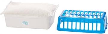 Sichler Haushaltsgeräte Luftentfeuchter: Raumentfeuchter mit 1,2 kg Granulat, bis 2,5 l, für Räume bis 50 m² (Granulat Luftentfeuchter) - 2