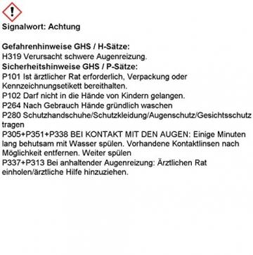 Sichler Haushaltsgeräte Luftentfeuchter: Raumentfeuchter mit 1,2 kg Granulat, bis 2,5 l, für Räume bis 50 m² (Granulat Luftentfeuchter) - 7