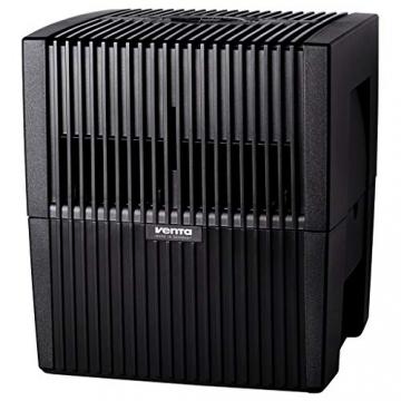 Venta Luftwäscher LW25 Comfort Plus Luftbefeuchter und Luftreiniger für Räume bis 45 qm, brillant schwarz, mit digitaler Steuerung - 3