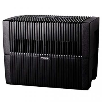 Venta Luftwäscher LW45 COMFORTPlus Luftbefeuchter und Luftreiniger für Räume bis 80 qm, Brillant Schwarz, mit digitaler Steuerung - 3