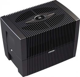 Venta Luftwäscher LW45 COMFORTPlus Luftbefeuchter und Luftreiniger für Räume bis 80 qm, Brillant Schwarz, mit digitaler Steuerung - 1