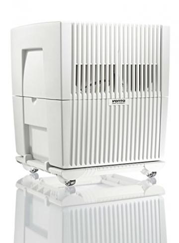 Venta Luftwäscher LW45 Original Luftbefeuchter und Luftreiniger für Räume bis 75 qm, weiß - 2