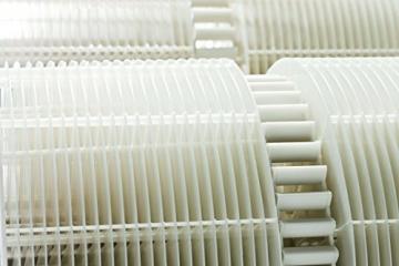 Venta Luftwäscher LW45 Original Luftbefeuchter und Luftreiniger für Räume bis 75 qm, weiß - 4