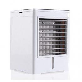 YWW-DJ Tragbarer Luftkühler, Luftbefeuchter USB-Miniklimaanlage for Camping & Auto, 3 Geschwindigkeiten mit Oszillation, 6-Stunden-Timer und Wassertank - 1