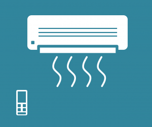 Klimagerät mit WLAN
